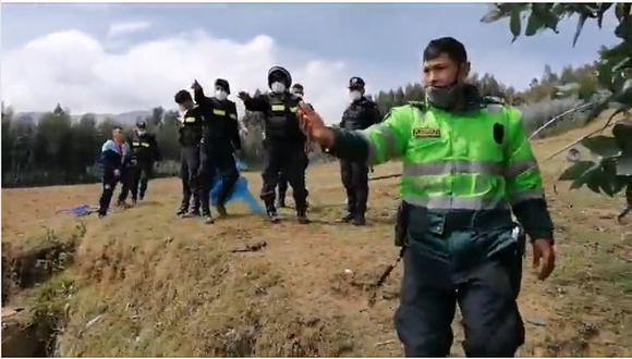La Libertad: Los menores habrían abierto a una cajita que hallaron cerca a un río y que contenía cartuchos de dinamita. (Foto: Captura de video)