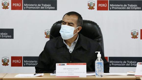 El pedido del ministro Maraví fue rechazado por no estar contemplado en la Constitución y el reglamento del Congreso. (Foto: GEC)
