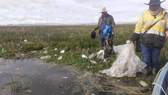 La situación de contaminación en el distrito de Coata es de gravedad. (Foto archivo GEC)