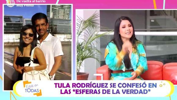 """Tula Rodríguez se quebró al recordar a Javier Carmona y """"la última vez que estuvo conectado a este mundo"""". (Foto: Captura de video)"""