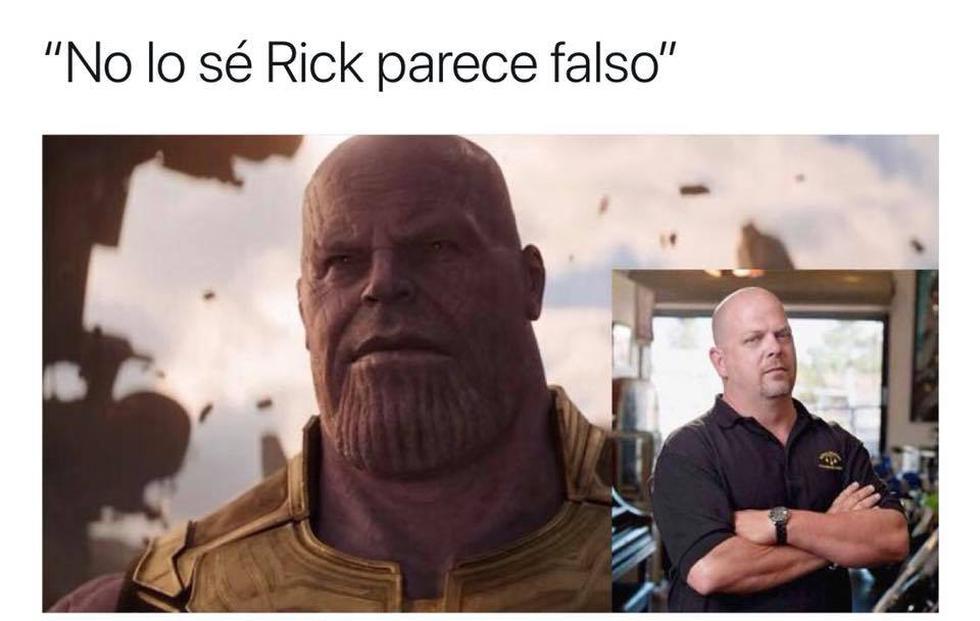 Estos son los memes que dejó la aparición de 'Thanos' en el tráiler de 'Infinity War' (Twitter)