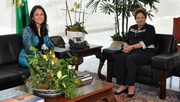 CON AGENDA PROPIA. Heredia fue recibida por Rousseff. No se vio a la ministra de Inclusión Social, Carolina Trivelli. (Difusión)