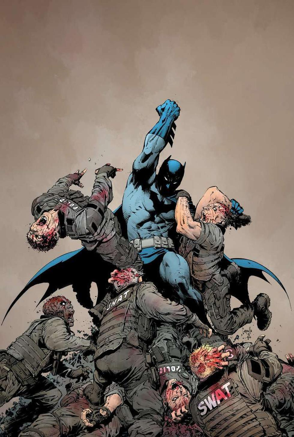 'Batman' se enfrentará a un apocalipsis zombie en nueva saga de cómics: 'DCeased'. (DC Comics)