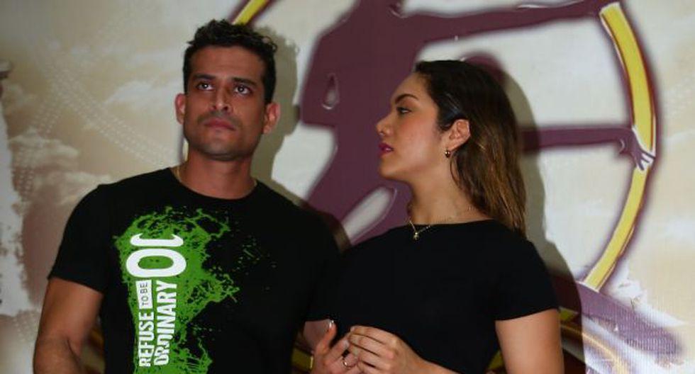 Christian Domínguez e Isabel Acevedo. (Foto: GEC)