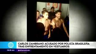 Boca Juniors: Carlos Zambrano terminó en la comisaría por agredir a policías