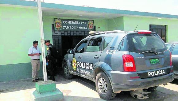 Detenido escapó de la dependencia policial por una de las ventanas.