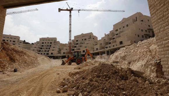 Las construcciones no se detienen en Jerusalén. (Reuters)
