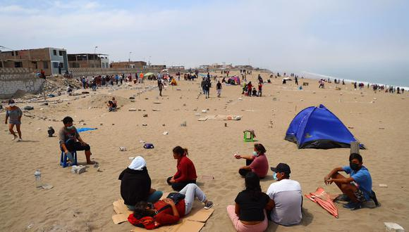Los invasores en la zona son más de mil. (Foto: Hugo Curotto / @photo.gec)