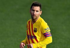 Barcelona: Lionel Messi no entrenó con el grupo y es duda para la Supercopa de España