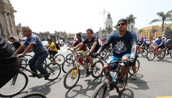 Municipalidad de La Victoria organiza para este domingo 18 una bicicleteada para fomentar el deporte y prevenir el contagio del COVID-19. (Foto: GEC)