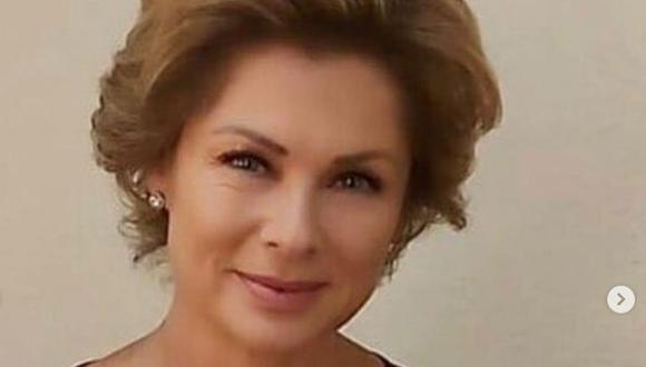 Leticia Calderón contó que a pesar de haber sido dada de alta, sigue usando el oxigeno, ya que tiene aún neumonía (Foto: Televisa)