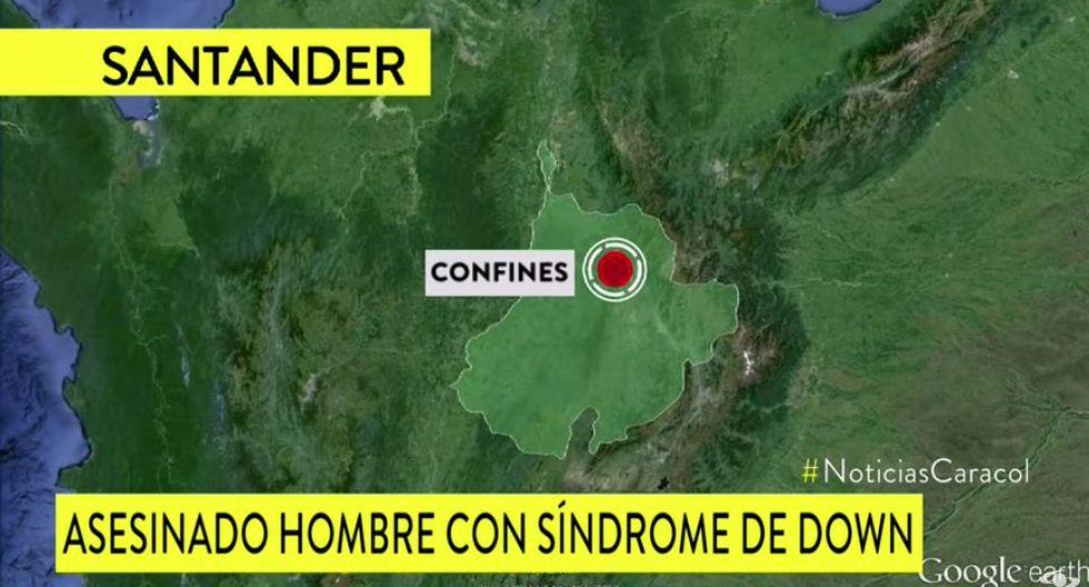 Colombia: Delincuentes asesinan a golpes a hombre con Síndrome de Down frente a sus padres. (YouTube/Caracol)