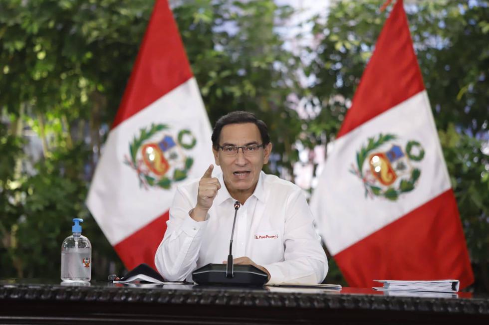 Esto dijo Martín Vizcarra tras insultos racistas de Martha Chávez a Vicente Zeballos.