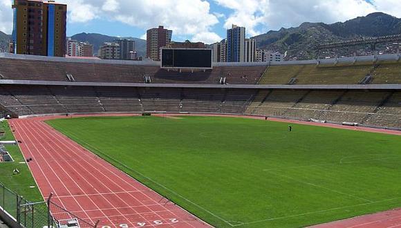 El Hernando Siles tiene capacidad para 42 mil espectadores. (Internet)