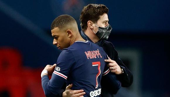Pochettino destacó la función que viene realizando Mbappé. (Foto: Reuters)