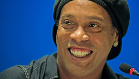 Ronaldinho anunció su retiro oficial del fútbol en enero del 2018. (Foto: AFP)