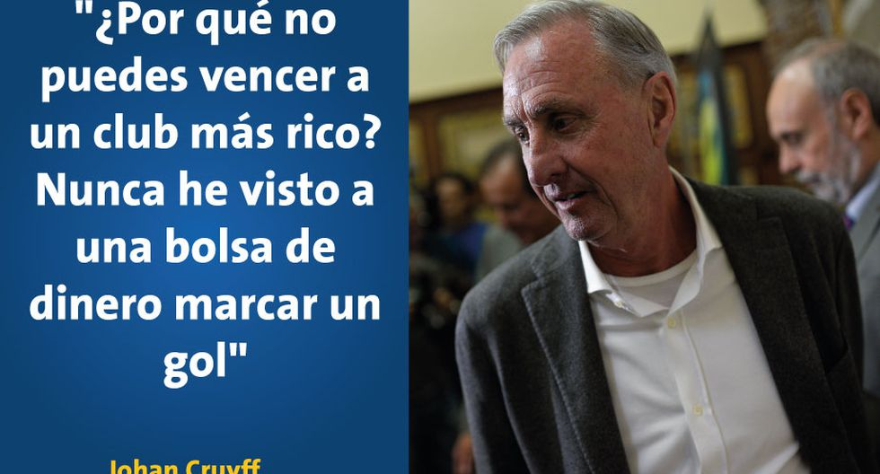 Johan Cruyff Nos Dejó 14 Frases Inolvidables Sobre Su Paso