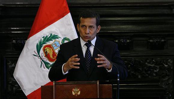 Afirman que Humala ha puesto el tema en su verdadera dimensión. (USI)