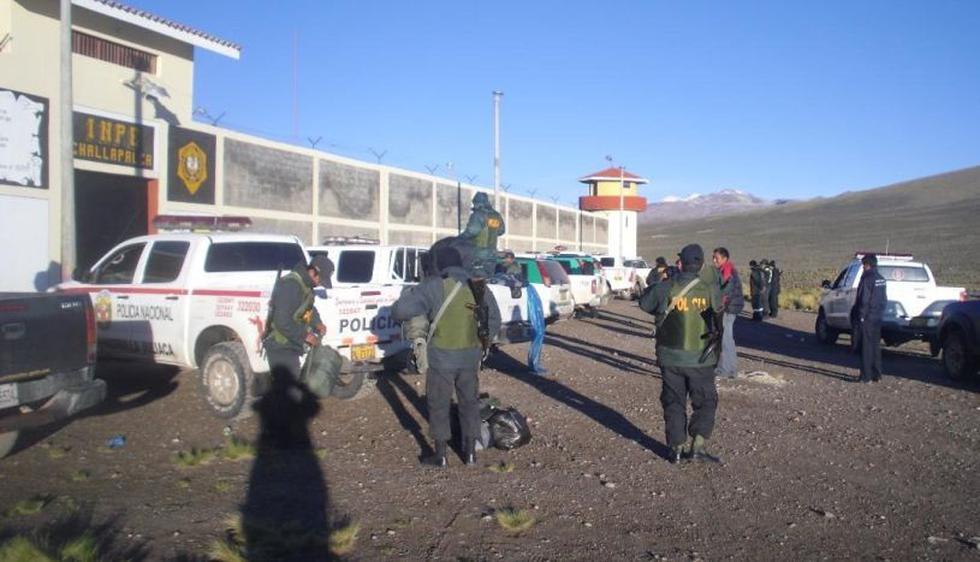 La Policía acordonó el penal de Challapalca ante los hechos ocurridos en su interior. (Imagen referencial/Archivo)