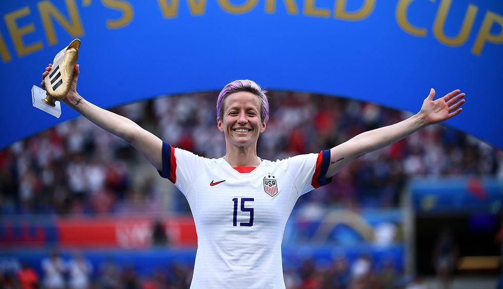 La futbolista Megan Rapinoe compite por ser la Mejor Deportista Femenina del año. (Foto: AFP)