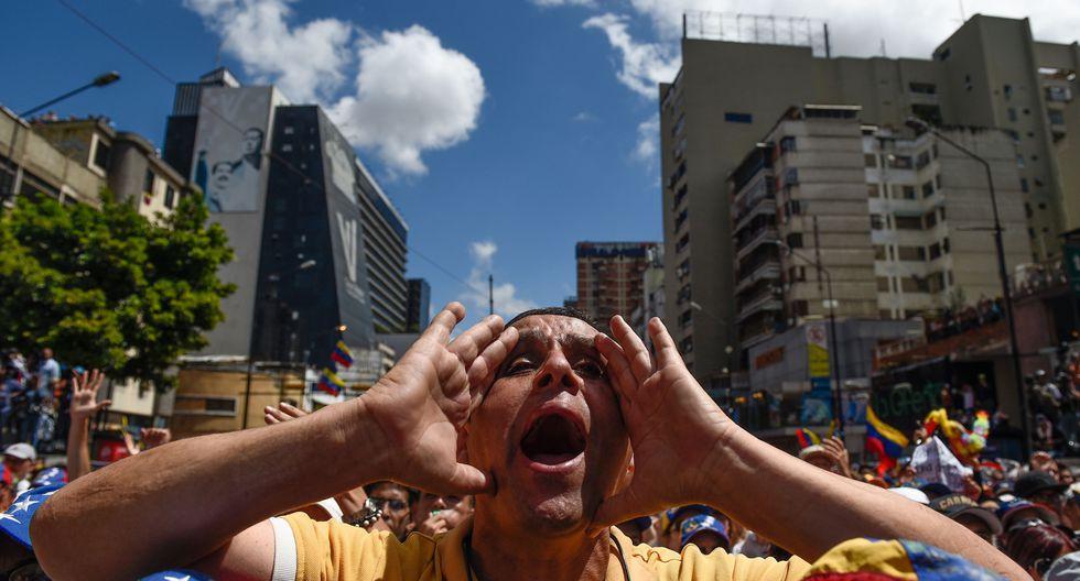 Las protestas continúan en la agitada Venezuela de Maduro. (Foto: AFP)