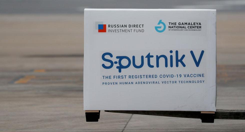 Imagen de un cargamento de dosis de la vacuna Sputnik V (Gam-COVID-Vac) contra la enfermedad del coronavirus. Archivo del 28 de enero de 2021. (REUTERS/Agustin Marcarian).