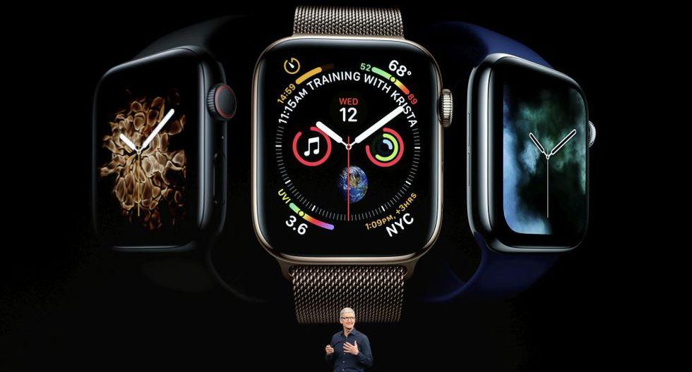 Se trata del mayor rediseño del reloj desde que la empresa californiana lo sacara al mercado en 2015. (Foto: AP)