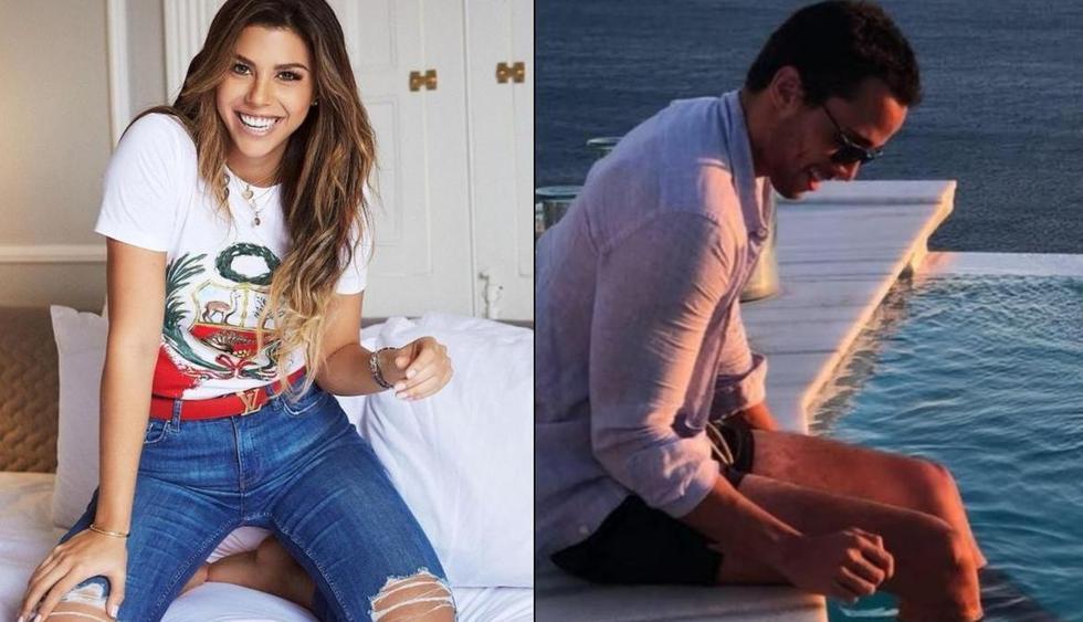 Alondra García Miró viajó a Miami con Nicolás Belfiore y alimenta los rumores sobre posible relación con el joven empresario. (Foto: Composición)