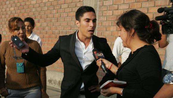 MORTIFICADO. Ariel Bracamonte dijo que no odia a su hermana y que solo busca justicia. (Martín Pauca)