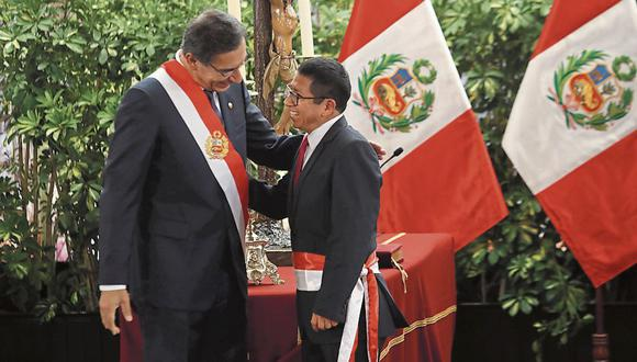 Edmer Trujillo fue dos veces ministro de Transportes y Comunicaciones de Vizcarra y terminó renunciando en ambas ocasiones. (Foto: GEC)