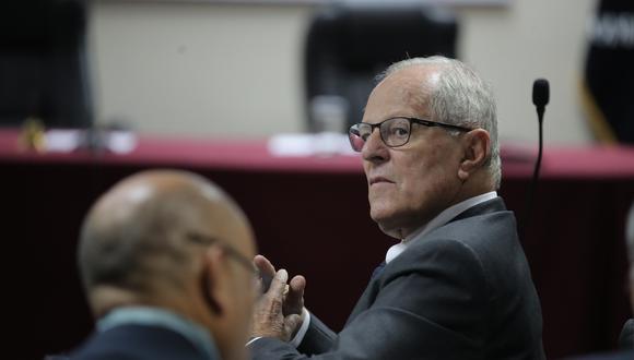El ex presidente Pedro Pablo Kuczynski participó de la audiencia del recurso de apelación a la detención preliminar. (Foto: Giancarlo Ávila / GEC)