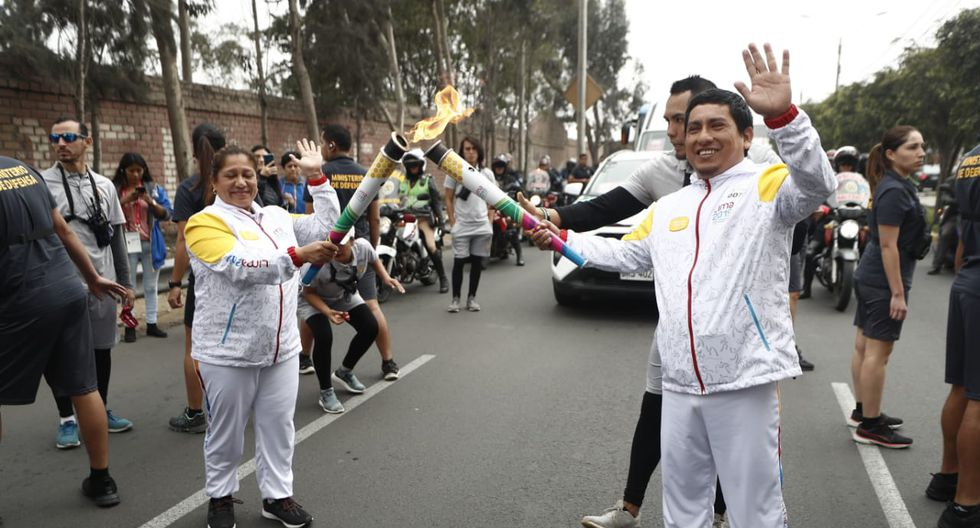 Antorcha Parapanamericana recorrerá los distritos de de Surco, San Borja, Barranco y Miraflores. (Foto: César Campos)