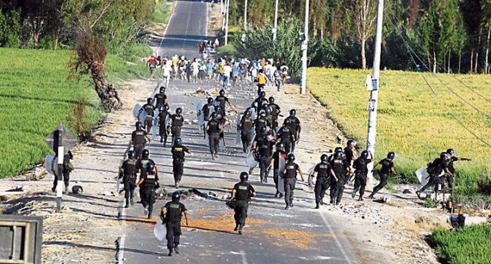 Se observaron acciones colectivas de protestas. (GEC)