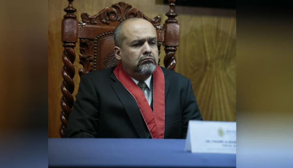 El fiscal Chávarry indicó que el nuevo fiscal coordinador del equipo será el fiscal superior Frank Robert Almanza. (Foto: Hugo Pérez - GEC).