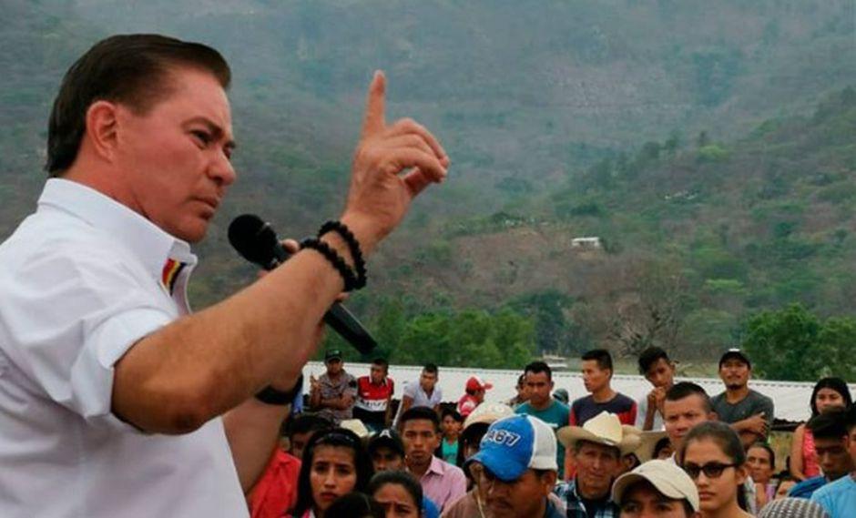 Mario Estrada Orellana durante un acto proselectista. (Foto: Facebook de Mario Estrada Orellana)