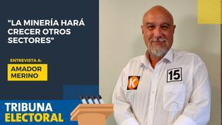 Amador Merino candidato al Congreso por Fuerza Popular