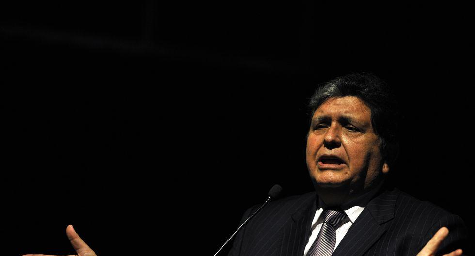 Odebrecht: Alan García acudirá a comisión Lava Jato para responder por el Metro de Lima. (AFP)