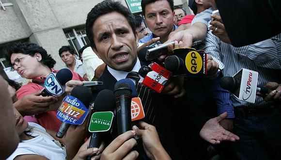 Rivera es el abogado de los deudos de la masacre. (USI)