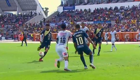 Oribe Peralta anotó su cuarto gol en el Apertura 2018 de Liga MX. (Captura: YouTube)