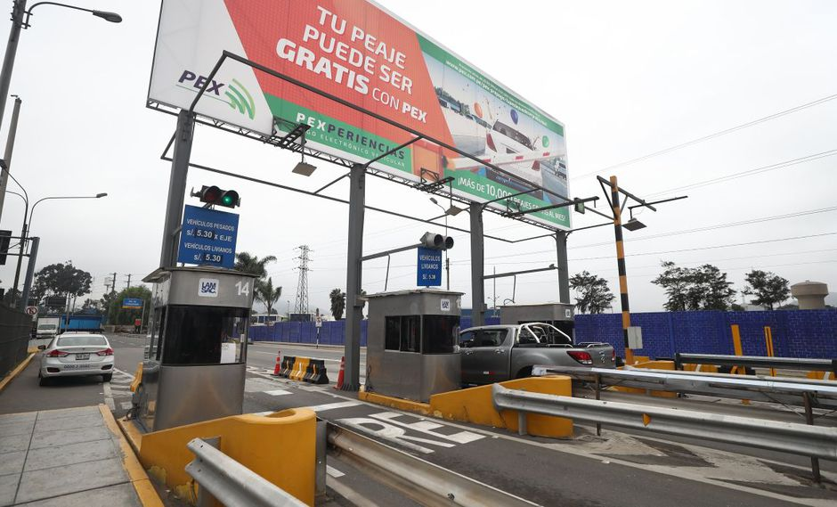 La Molina cuestiona el peaje de la avenida Separadora Industrial. (GEC)