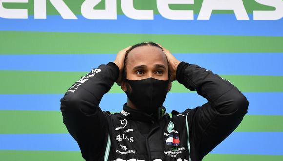 Lewis Hamilton ganó el Gran Premio de Gran Bretaña de F1. (Foto: AP)