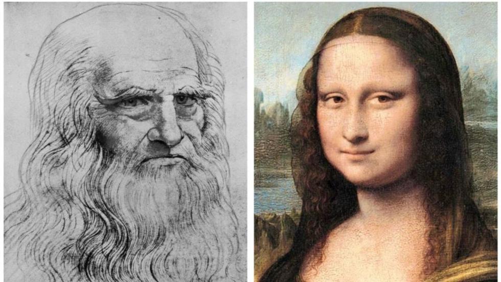 Leonardo Da Vinci. Varias de sus obras y escritos fueron hechos con la mano izquierda, pero se dice que también habría sido ambidiestro. El artista tenía una gran capacidad intelectual y creativa. (Foto: AP)