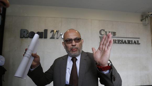 Roberto Pereira será el abogado de Martín Vizcarra. (GEC)