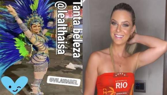 Fue en 2017 que Thaisa Leal que se hizo conocida en el Perú debido a su romance con Paolo Guerrero. (Composición)