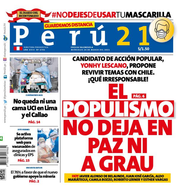El populismo no deja en paz ni a Grau.