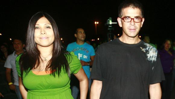 Tula y Carmona se unieron en medio de un escándalo amoroso que involucraba a Gisela Valcárcel. (USI)