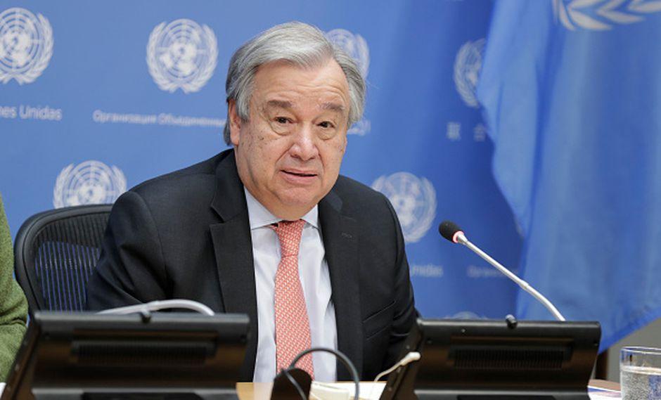 Antonio Guterres, secretario general de la ONU (Getty Images)