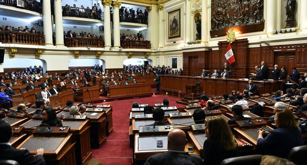 Congreso de la República del Perú. (Foto: AFP/ Archivo)