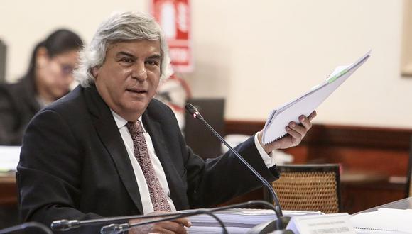Fernando Olivera, excongresista y exministro, consiguió que su agrupación cuente con registro ante el JNE.  (Foto: GEC)