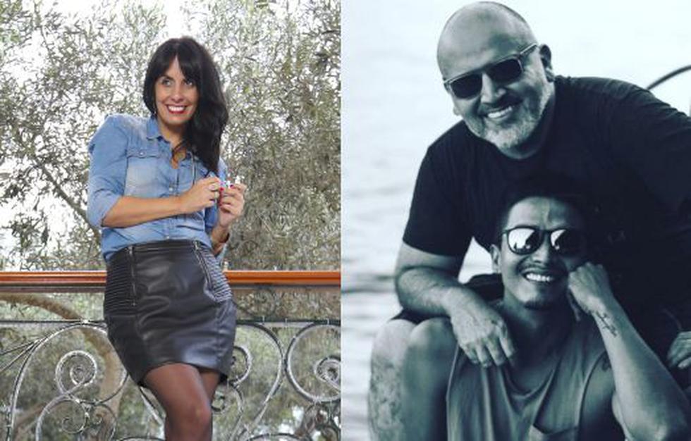 Carla García felicitó a Beto Ortiz por estar feliz al lado de joven iquiteño. (GEC)